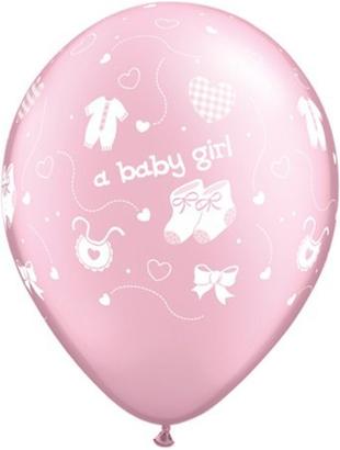 Pink Baby Boy Balloon