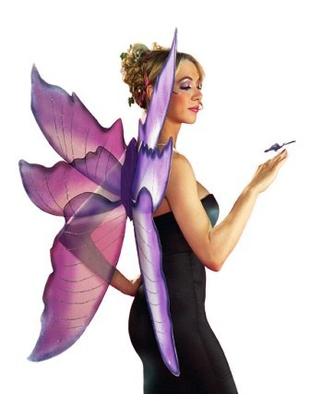 deluxe purple Wings